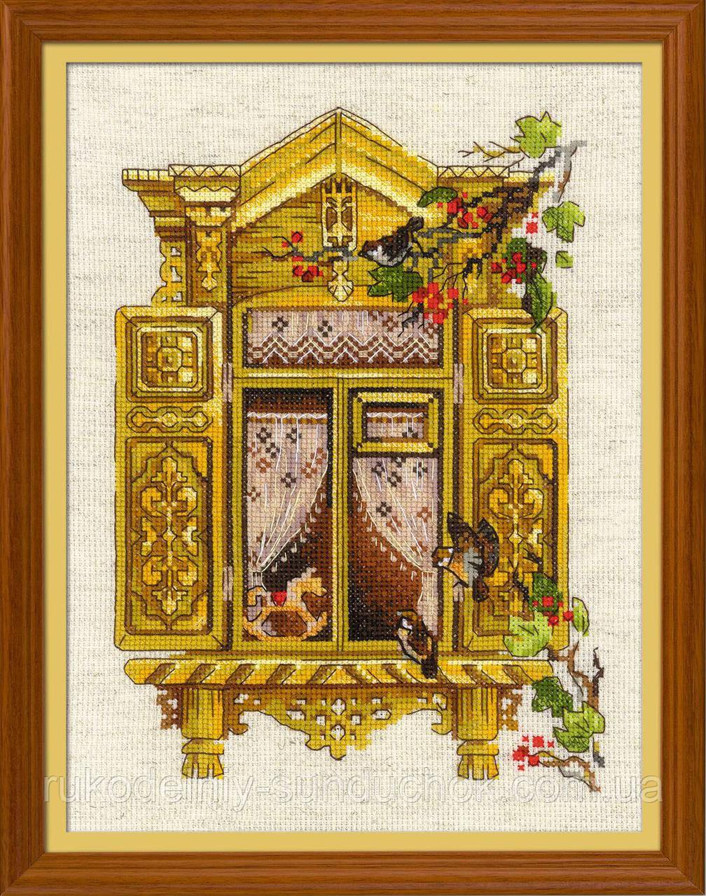 Набор для вышивания крестом «Окошко в Воробьево» (1731)