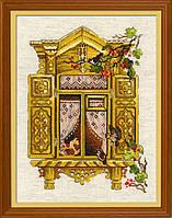 Набор для вышивания крестом «Окошко в Воробьево» (1731), фото 1