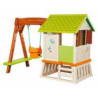 Дом Сладкие мечты с горкой и качелями, 220х160х163см Smoby 810601