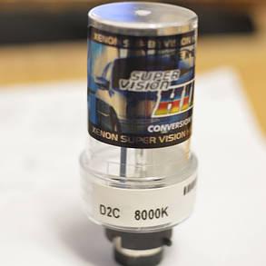 Ксеноновая лампа SL Xenon под цоколь D2C, 35Вт. 8000К. AC, фото 2