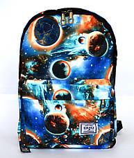 Школьный рюкзакс оригинальным принтом 2838, фото 2