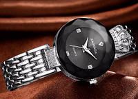 МОДНЫЕ!! Женские часы Baosaili (баосали) в ФИРМЕННОЙ коробке, серебрянные с черным