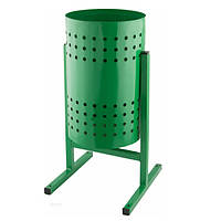 "Урна для мусора ""Цилиндр"" 12 л. (зелёная)"