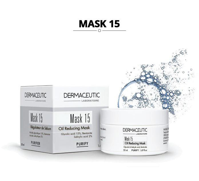Dermaceutic Поросуживающая глиняная маска Mask 15, 50 мл