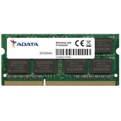 Модуль памяти для ноутбука SoDIMM DDR3 4GB 1600 MHz A-DATA (AD3S1600W4