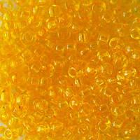 Чешский бисер для рукоделия Preciosa (Прециоза) оригинал 50г 33119-01181-10 Желтый
