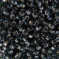 Чешский бисер для рукоделия Preciosa (Прециоза) оригинал 50г 33129-47010-10 Черный