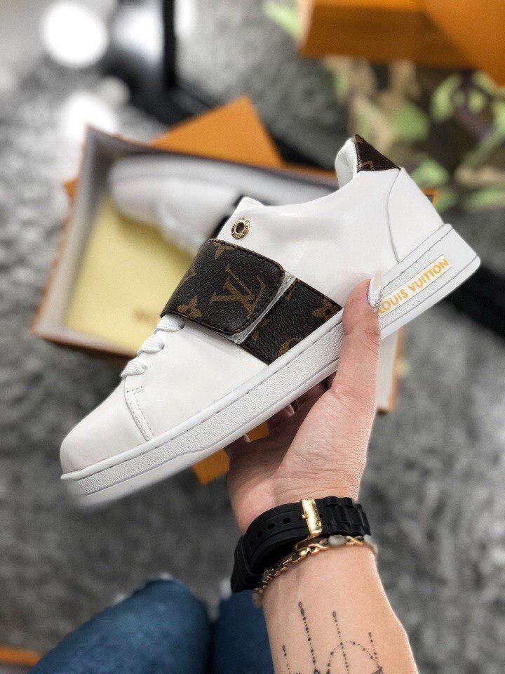 09cea58b3cb4 Женские Кроссовки Louis Vuitton White - Магазин обуви и аксессуаров YSS в  Ужгороде