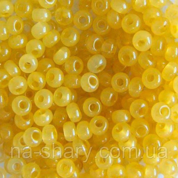 Чешский бисер для рукоделия Preciosa (Прециоза) оригинал 50г 33119-02151-10 Желтый