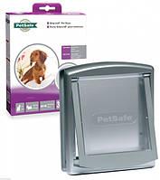 Дверцы Петсейф Стейвел Оригинал для собак маленьких пород до 7кг , серый.