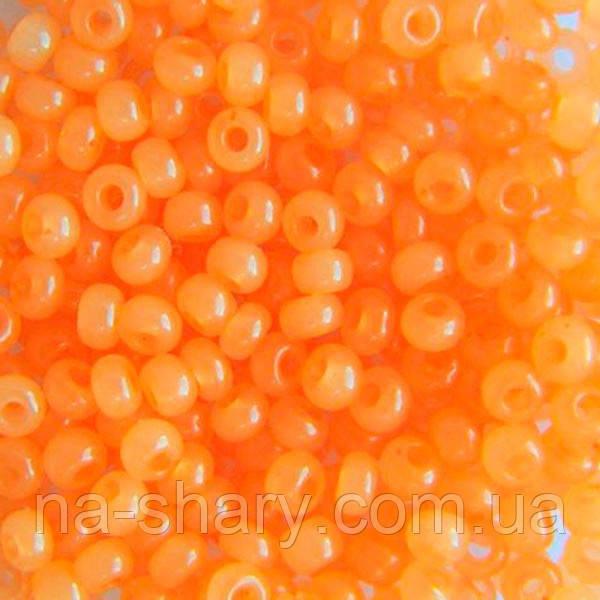 Чешский бисер для рукоделия Preciosa (Прециоза) оригинал 50г 33119-02184-10 Оранжевый