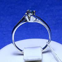 Серебряное кольцо с цветным камнем кс 72м топ