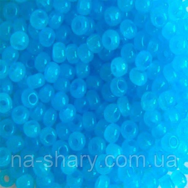 Чешский бисер для рукоделия Preciosa (Прециоза) оригинал 50г 33119-02134-10 Голубой