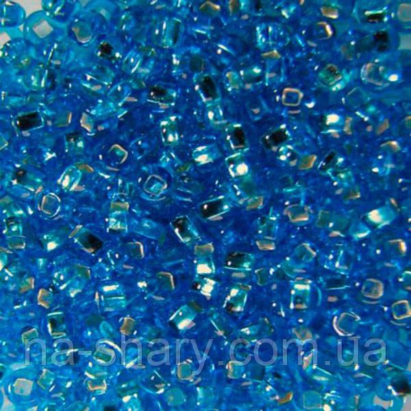 Чешский бисер для рукоделия Preciosa (Прециоза) оригинал 50г 33129-67150-10 Голубой