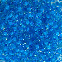 Чешский бисер для рукоделия Preciosa (Прециоза) оригинал 50г 33119-38336-10 Голубой