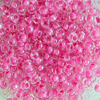 Чешский бисер для рукоделия Preciosa (Прециоза) оригинал 50г 33119-38625-10 Розовый