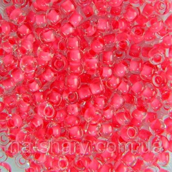 Чешский бисер для рукоделия Preciosa (Прециоза) оригинал 50г 33119-38398-10 Розовый