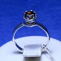 Серебряное кольцо с гранатовым цирконием кс 1110гр