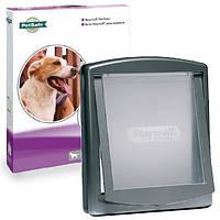 Дверцы Петсейф Стейвел Оригинал для собак крупных пород до 45кг , серый.