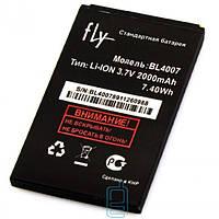 Аккумулятор Fly BL4007 2000 mAh DS123 AAAA/Original тех.пакет