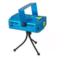 Музыкальная лазерная установка Mini laser stage lighting