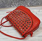 Красная сумочка с камушками, фото 8