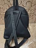 Жіночий рюкзак мистецтв шкіра якість з подвійна пайетка міський спортивний стильний опт, фото 5