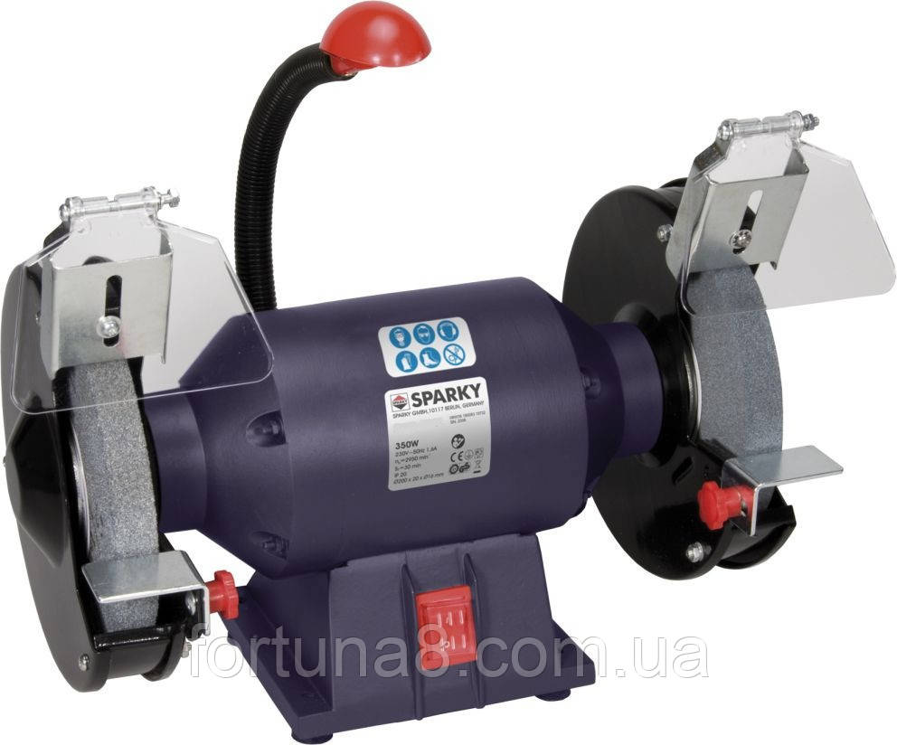 Електроточило FORTE BG1540 400Вт, 150х16х12,7мм, 2840об/хв. з двома шліфкругами