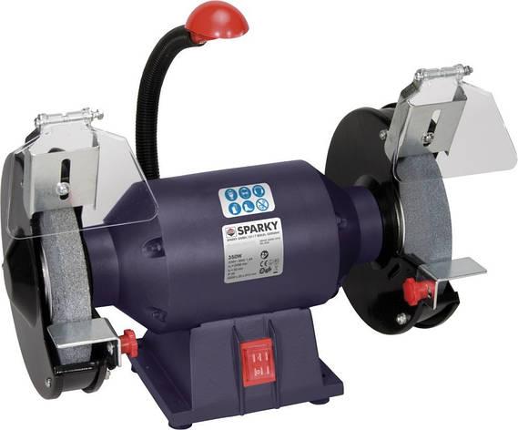 Електроточило FORTE BG1540 400Вт, 150х16х12,7мм, 2840об/хв. з двома шліфкругами, фото 2