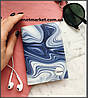 """Обложка на паспорт """"Blue illusion"""""""