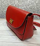 Модная красная сумочка, фото 4
