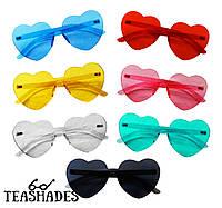 "Солнцезащитные Очки ""Сердечки"" разноцветные от Teashades - Zara Mango Benetton M&S H&M Ray Ban, Marc Jacobs"