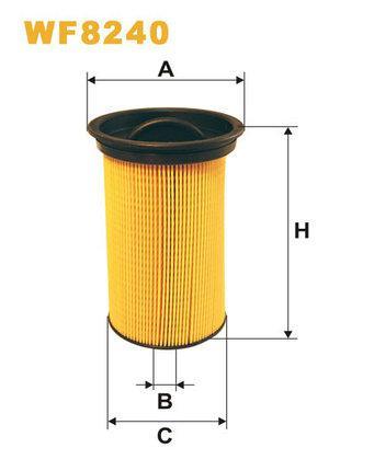 Фильтр топливный WIX WF8240 (PE 970)