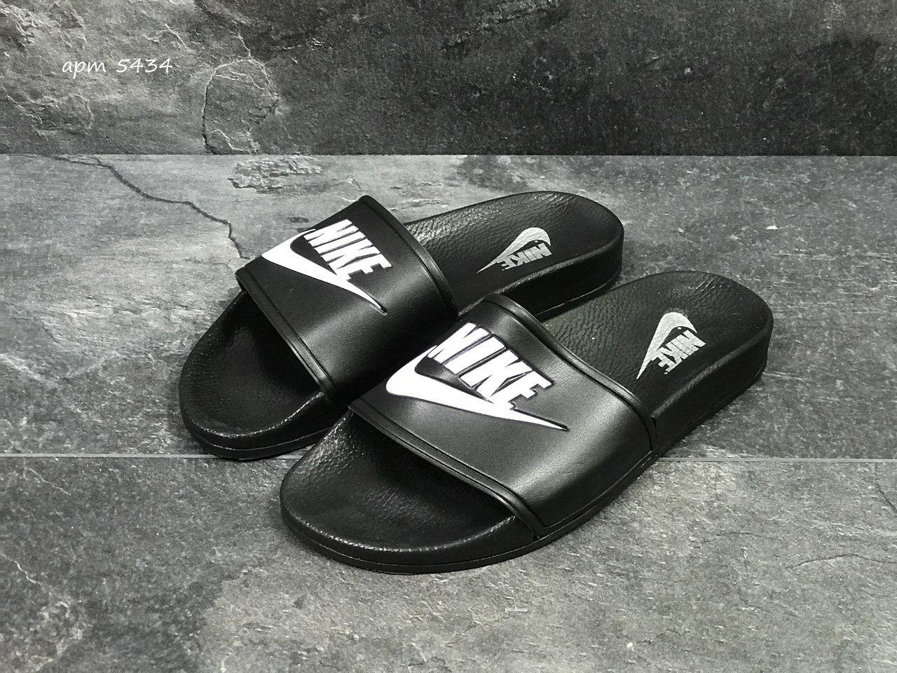 2a7b2923 Мужские шлепанцы Nike, черные 40 (Реплика), цена 400 грн., купить в ...