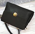 Стильная черная женская сумка , фото 7