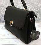 Стильная черная женская сумка , фото 2