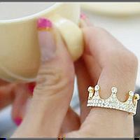 Женское кольцо корона, фото 1