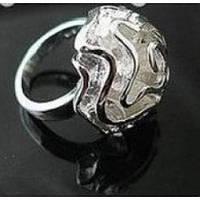 Кольцо Роза - серебро, фото 1