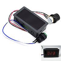 Регулятор скорости двигателя постоянного тока с дисплеем, 30В, 8А , фото 1