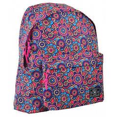 Рюкзак молодежный ST-17 Crazy Floral, 42*32*12 (554988)