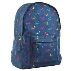 Рюкзак молодежный ST-18 Jeans Meow, 41*30*13.5 (555414)
