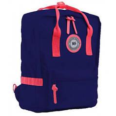Рюкзак подростковый YES  ST-24 Navy peony, 36*25.5*13.5 (555581)