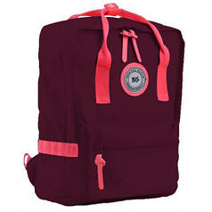 Рюкзак подростковый YES  ST-24 Tawny port, 36*25.5*13.5 (555585)