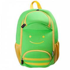 Детский Рюкзак NoHoo Смайлик Зелёный (NH001-1)