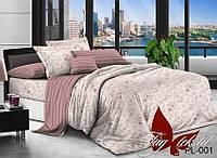 Полуторный комплект постельного белья с компаньоном PL001