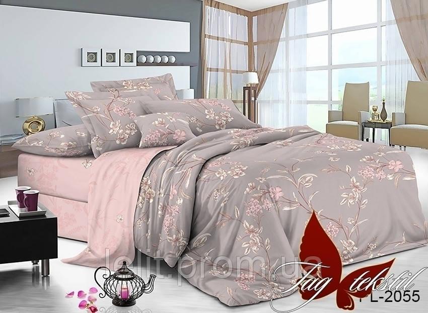 Полуторный комплект постельного белья с компаньоном PL2055