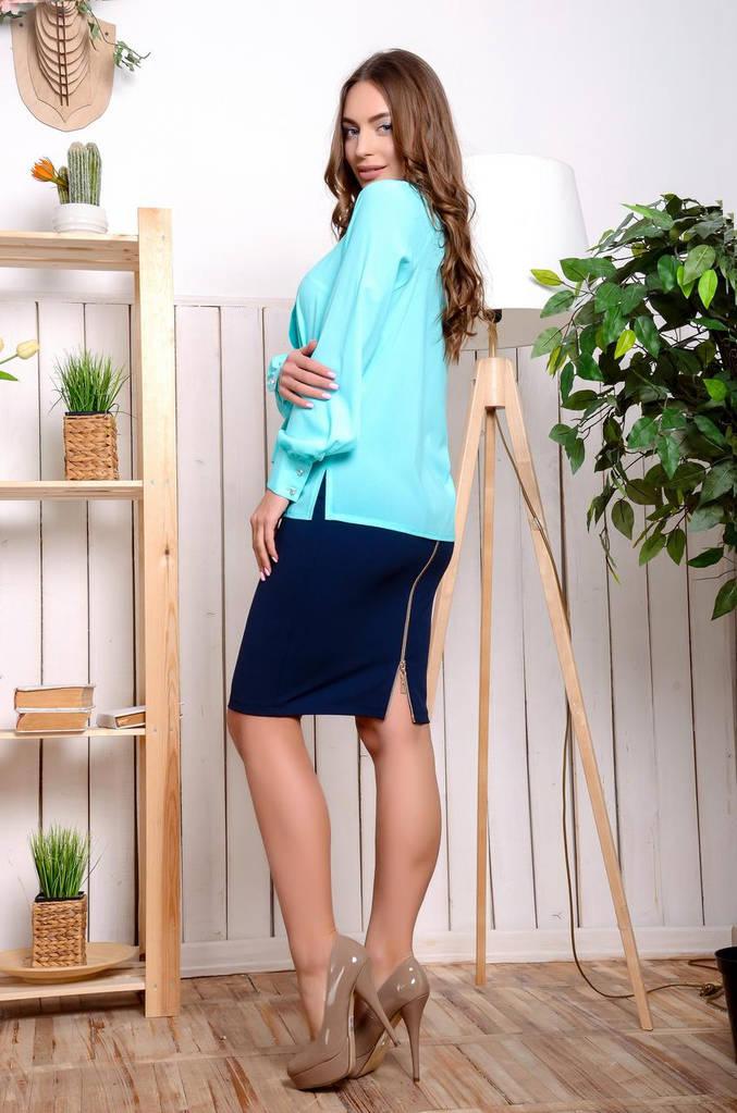 Женская Блуза, цвет: мята