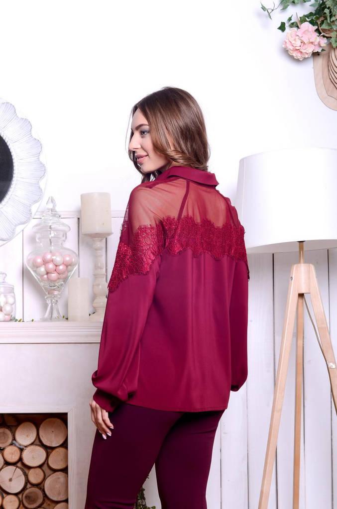 Женская Блуза, цвет: черный