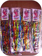 Дождик цветной 1,0 м 1шт/в уп. (100 уп.)  , фото 1