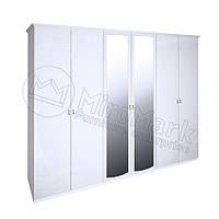 Шкаф 3Д Футура (Белый глянец) Миро Марк